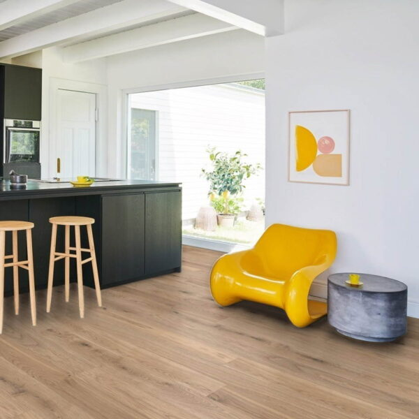 Roble Living Blanco - Madera Multicapa Parador Classic 3060 ambiente sala