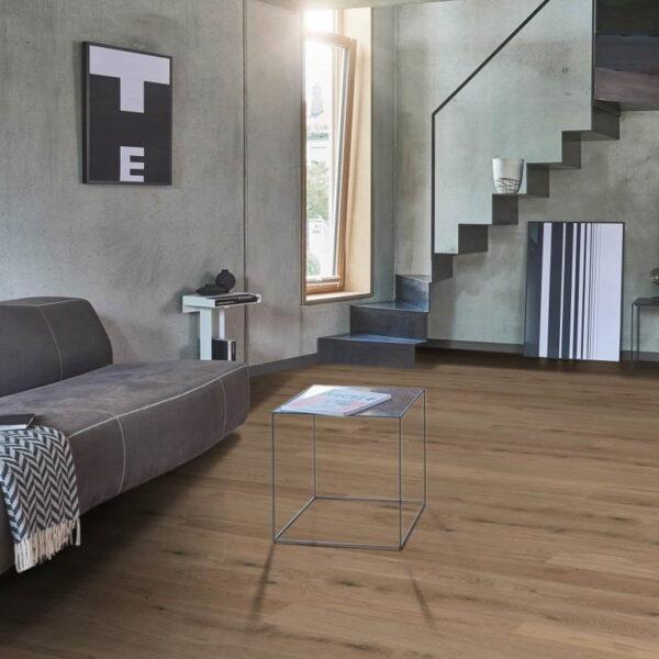 Roble Living Blanco - Madera Multicapa Parador Classic 3060 ambiente salón