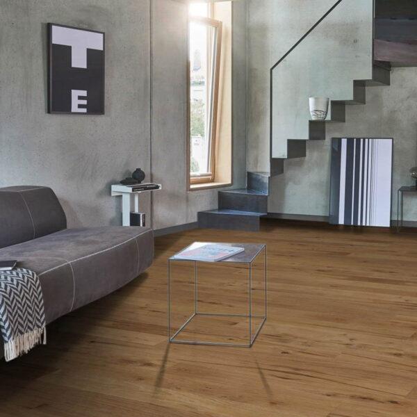 Roble Lijado a Mano - Madera Multicapa Parador Trendtime 8 ambiente salón