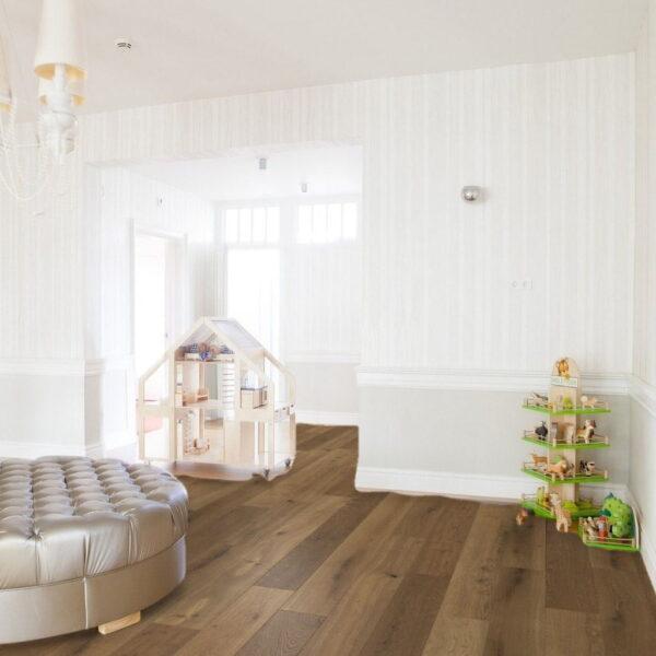 Roble Oreado Aceite Plus - Madera Multicapa Parador Classic 3060 ambiente habitación