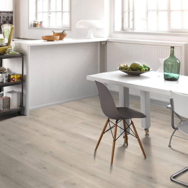 Roble Urban Blanco Calizo XXL - Vinílico Parador Modular ONE ambiente cocina