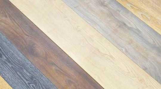Tratamiento y texturas de la tarima de madera
