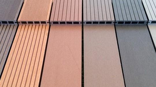 Colores del suelo exterior composite