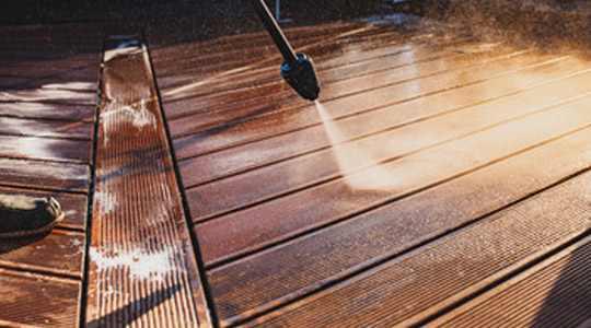 Limpieza y cuidado de las Tarimas de Exterior de Madera