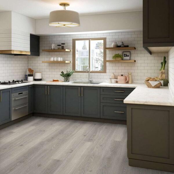 Roble Roble Studioline Gris Claro XXL/AC5 - Laminado Parador TrendTime 6 ambiente cocina