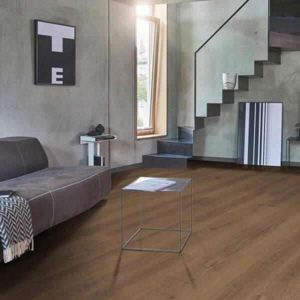 Roble Studioline Miel XXL/AC5 - Laminado Parador TrendTime 6 ambiente salón