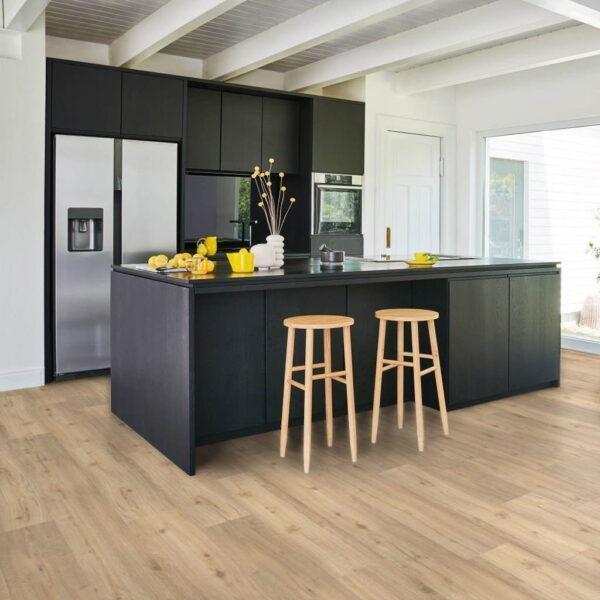Roble Lijado - Vinílico SPC Parador Classic 2070 ambiente cocina