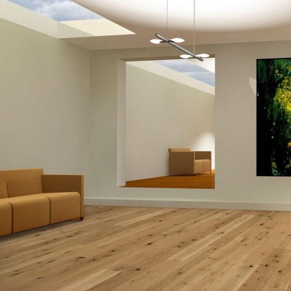 Roble Rústico Aceite Natural Plus - Madera Multicapa Parador Classic 3025 ambiente salón
