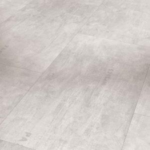 Industrial Canvas White - Vinílico SPC Parador Trendtime 5 Baldosa Grande