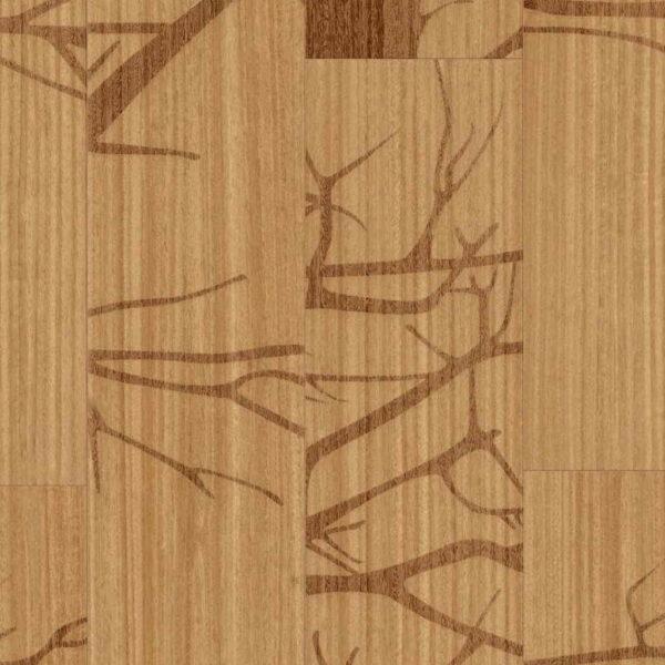 Silhouette - Vinílico SPC Parador Trendtime 8 Lama Grande detalle