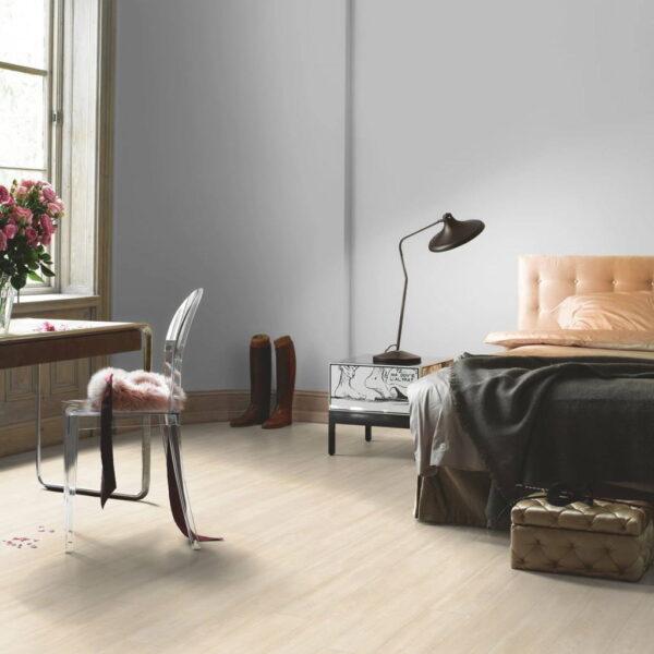 Roble Nordic Beige - Vinílico Parador Modular ONE 1 Lama ambiente dormitorio